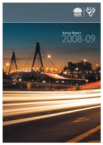 RTA Annual Report 2009 Complete - RTA - NSW Government