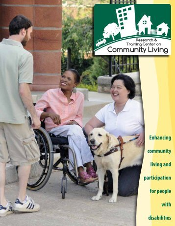 Enhancing community living and participation for people with ...