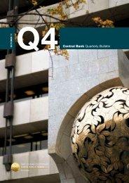 Q4Central Bank Quarterly Bulletin - Central Bank of Ireland