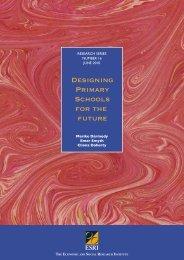 Designing Primary Schools for the future - TARA