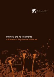 Infertility and Its Treatments A Review of Psycho-social Issues