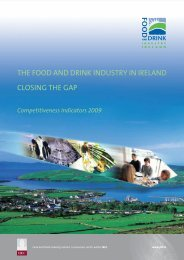 Closing The Gap - Food and Drink Industry Ireland
