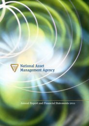 NAMA Annual Report and Financial Statements 2011