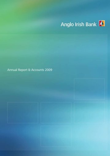 Annual Report & Accounts 2009