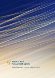 annual report for 2010 - National Asset Management Agency