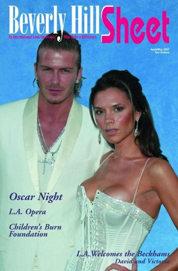 Oscar Night L.A.  Opera - Beverly Hills Sheet Official Website