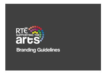 Branding Guidelines - RTÉ