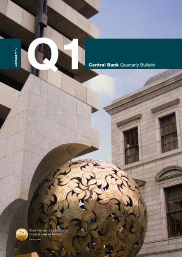 Q1Central Bank Quarterly Bulletin - Central Bank of Ireland
