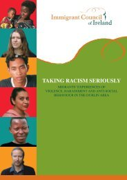'Taking Racism Seriously: Migrants' Experiences of ... - Emn.ie