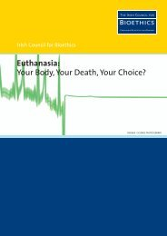 Euthanasia: Your Body, Your Death, Your Choice?