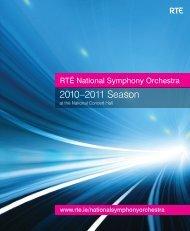 2010-2011 Season brochure - RTÉ