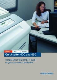 Quicksetter 400 and 460 - RTI Global Inc.