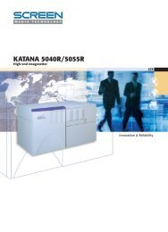 Screen Katana 5040R