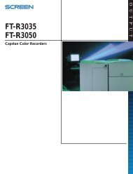 Screen FT-R 3035 3050 - RTI Global Inc.