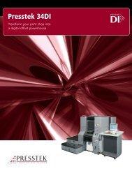 Presstek 34DI - RTI Global Inc.