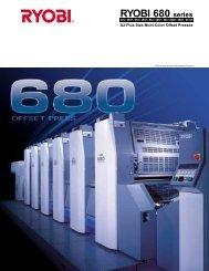 Ryobi 680 Series Press - RTI Global Inc.