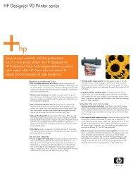 HP Designjet 90 - RTI Global Inc.