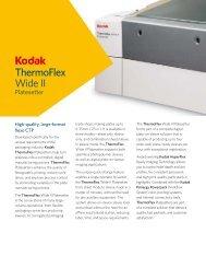 Kodak ThermoFlex WideII