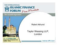 (Istanbul) Rabel Akhund Taylor Wessing LLP, London - Assaif