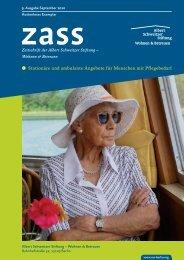 Stationäre und ambulante Angebote für ... - Albert Schweitzer Stiftung