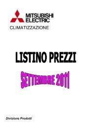 listino settembre 2011 - Rtricambi.it