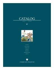 CATALOG - Reformed Theological Seminary