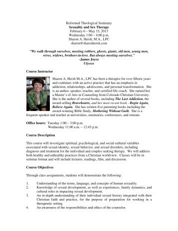 2012-2013_04_2PSY573_Sexuality and Sex Therapy - Reformed ...