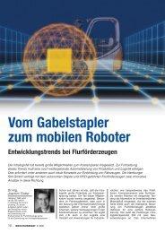 Vom Gabelstapler zum autonomen Roboter - RTS
