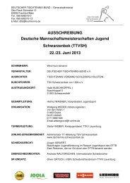 zur Ausschreibung - DJK Saarlouis-Roden