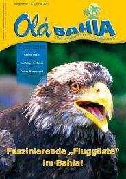 """Faszinierende """"Fluggäste"""" im Bahia! - Inselbad Bahia"""