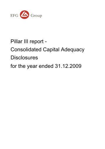 EFG Group Pillar 3 (pdf) - EFG Bank Group
