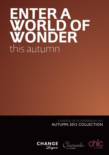 autumn 2012 collection - CHARISMA FASHION, spol. s ro