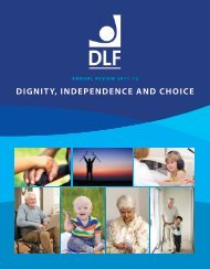 Annual Review 2010-2011 - Disabled Living Foundation