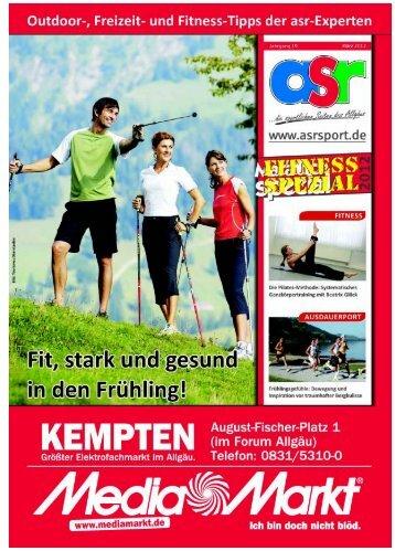 ASR Sport Ausgabe Fitness 2012 - Allgäu Sport Report