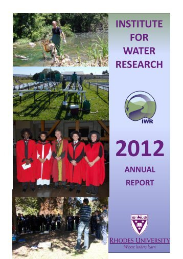 Annual Report - Rhodes University