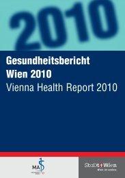 Geundheitsbericht Wien 2010