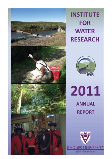 2011 Annual Report - Rhodes University