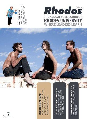 Rhodos April 2010 - Rhodes University
