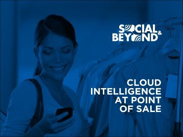 CLOUD INTELLIGENCE AT POINT OF SALE