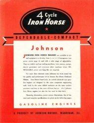 1940 Iron Horse - ruc enterprises