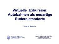 Virtuelle Exkursion: Autobahnen als neuartige Ruderalstandorte