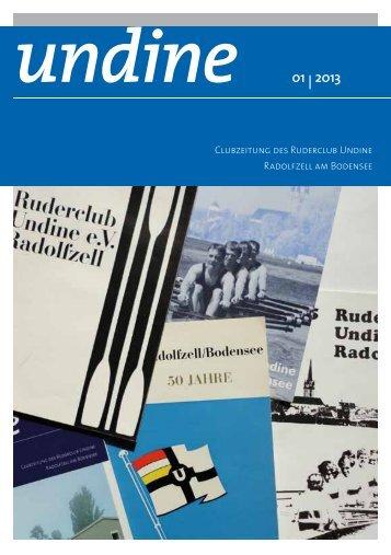 undine 01 | 2013 - Ruderclub Undine Radolfzell
