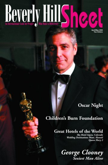 George Clooney - Beverly Hills Sheet Official Website
