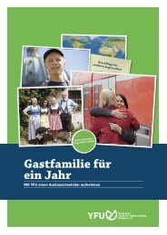 Gastfamilie für ein Jahr - Rudern.de