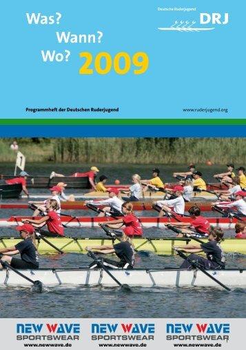 Was? Wann? Wo? 2009 - Rudern.de