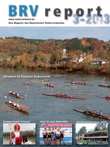 Ausgabe 3-2013 - Bayerischer Ruderverband