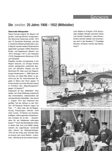 1908-1932 - Bayerischer Ruderverband