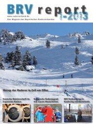 Ausgabe 1-2013 - Bayerischer Ruderverband