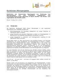 """die 3 Säulen von """"JES"""" - Bayerischer Ruderverband"""