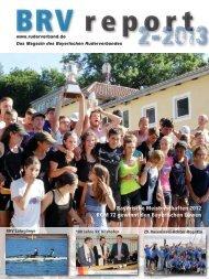 Ausgabe 2-2013 - Bayerischer Ruderverband